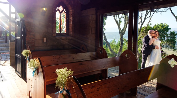 Intimate chapel in the Garden Route