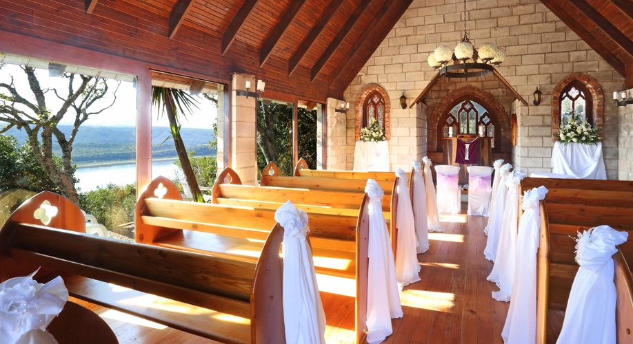Chapel intimate setting function wedding venue